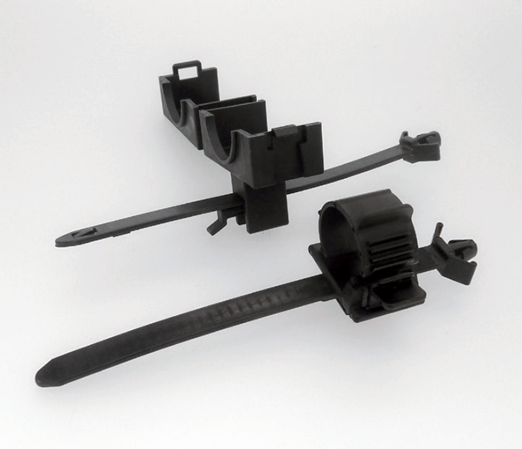 Plastic Clamps: A.C. Cord Clamp