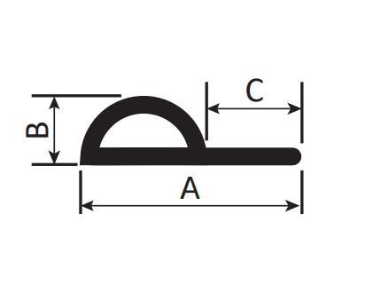 Conductive Carbon Rubber: P Type