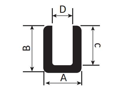 Conductive Carbon Rubber: U Type