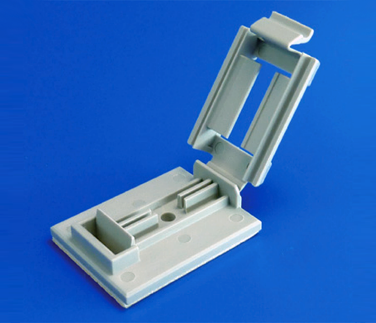 Adhesive flat cable clamp: FCW Series