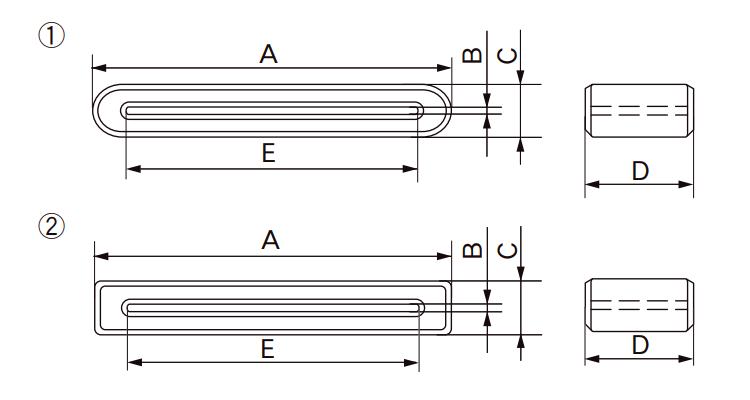 Dimensions: GFPC Series