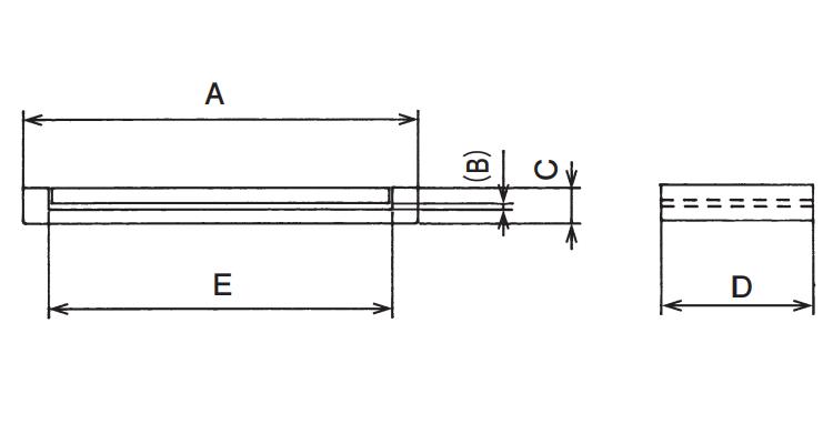 Dimensions: OPEN CIRCUIT CORE - GFPO