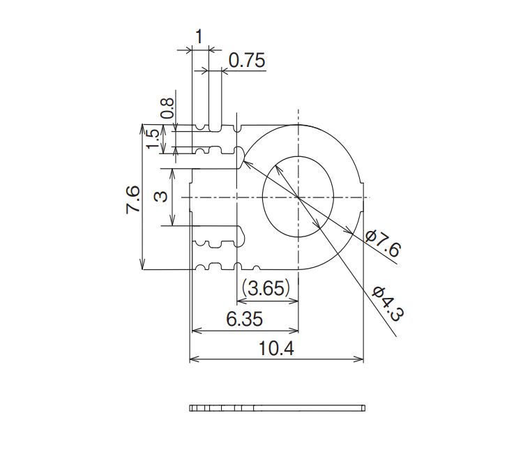 Dimension: OG-RM30F