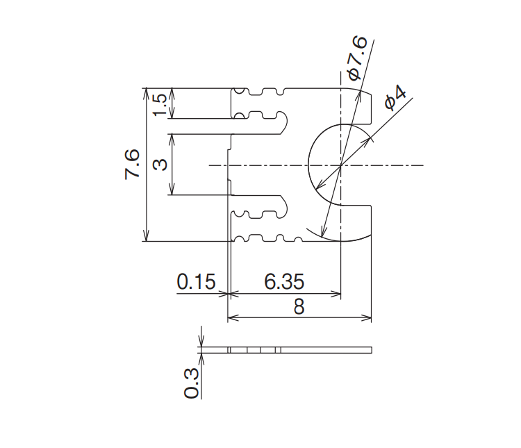 Dimension: OG-RM30HF
