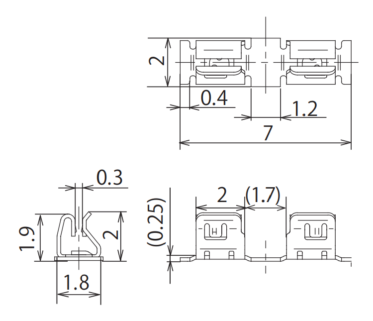 Dimension: OGCP-702020