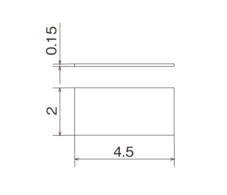 Dimension: OGP-4520