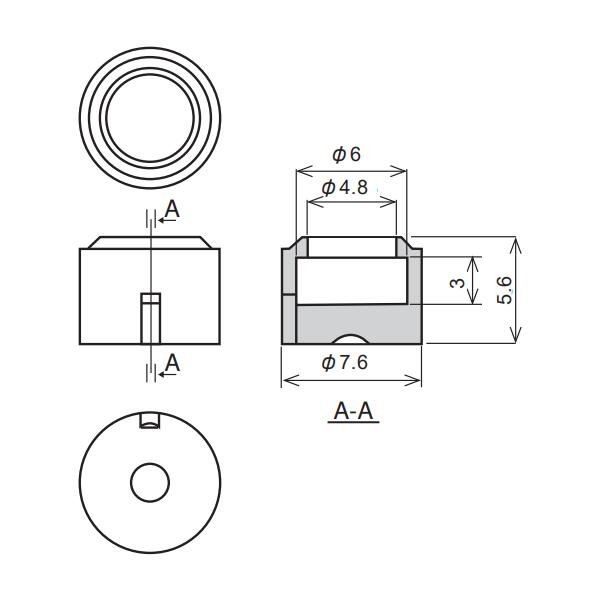 Dimensions: MH-6022-100BK
