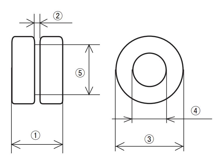 Dimensions: VB Series