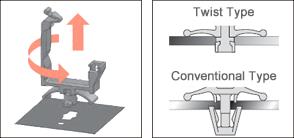 Twist Type Snap Mount Advantages