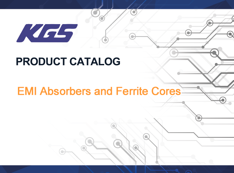 Product Catalog: Absorbers and Ferrite Cores
