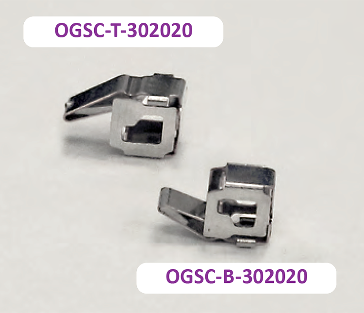 Side Contact: OGSC-T-302020 and OGSC-B-302020